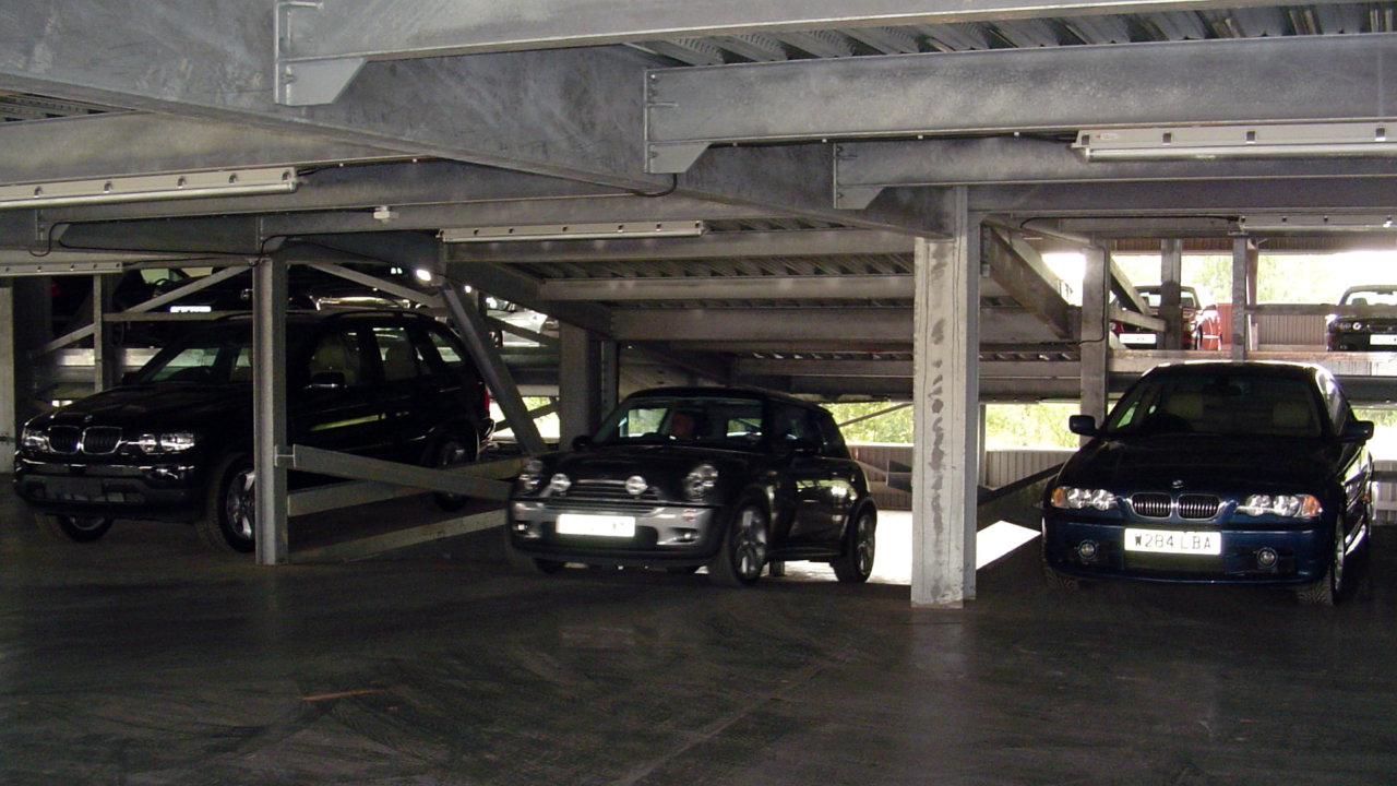 ... design and construction of many multi-level parking structures in the