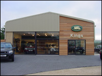 Landrover Car Dealership