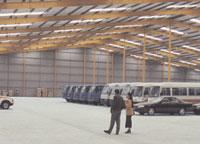 7,400metra (2) warehouse