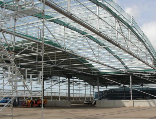 Shoreham Port Covered Storage Building – 8360
