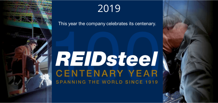 Reidsteel 100 years of trading