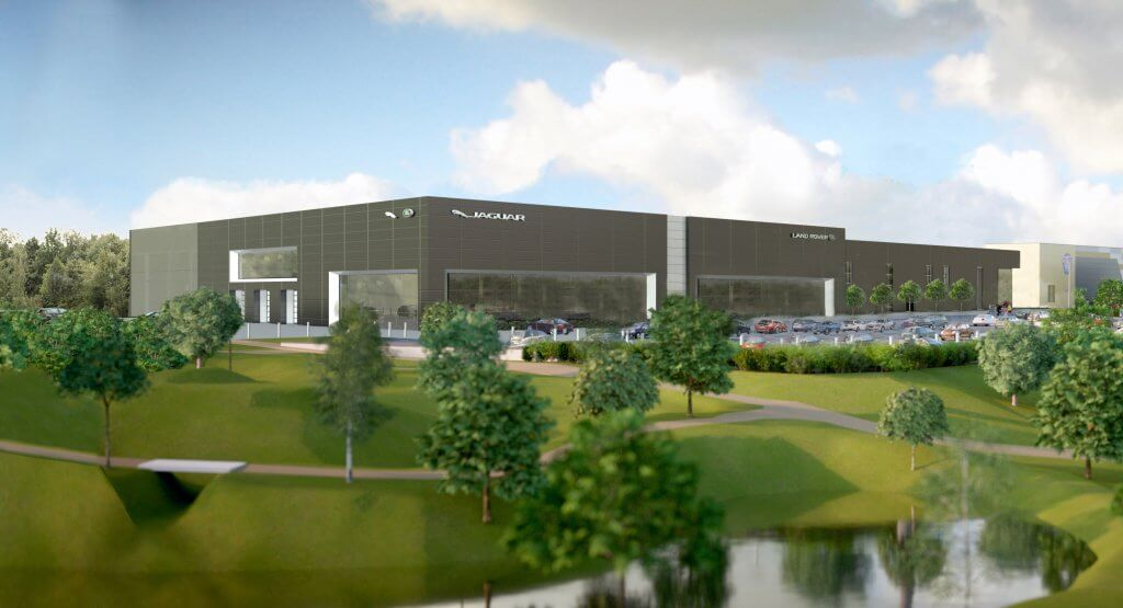 DRIVING SEAT: Artist's impression of new Jaguar Land Rover complex (Image: SRA Architects)