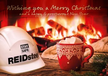 Merry Christmas from all at REIDsteel