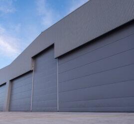 MRO hangar at Norwich Airport